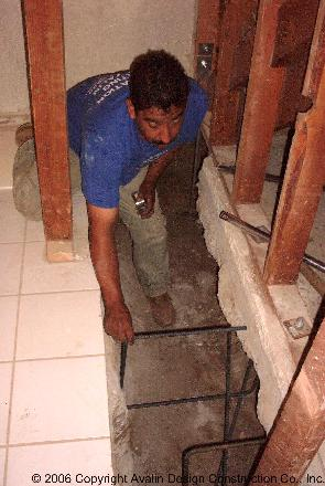 Steel Reinforced Foundation Underpinning